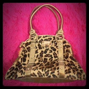 Betsey Johnson Leopard Handbag